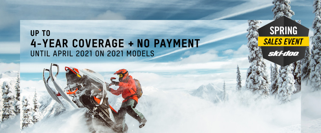 Call Us Or Stop By For A Great Price On A 2021 Ski-Doo Snowmobile!