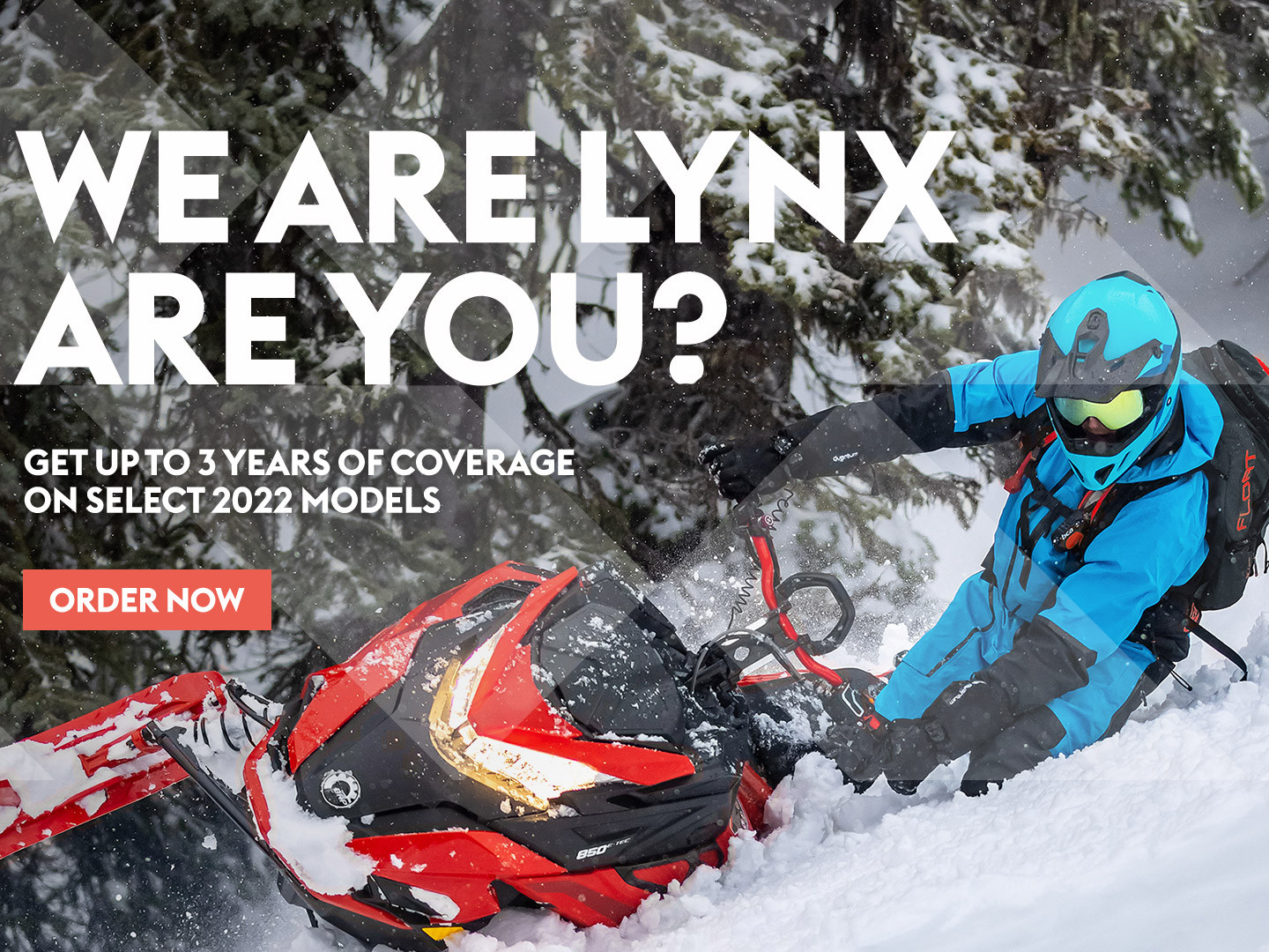 Order Your New 2022 Lynx Snowmobile!!  - March 31st Deadline